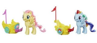 MLP Reboot Series Royal Spin-Along Chariot Brushables