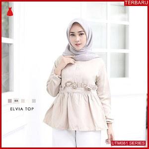 UTM081E37 Baju Elvia Muslim Atasan UTM081E37 051 | Terbaru BMGShop