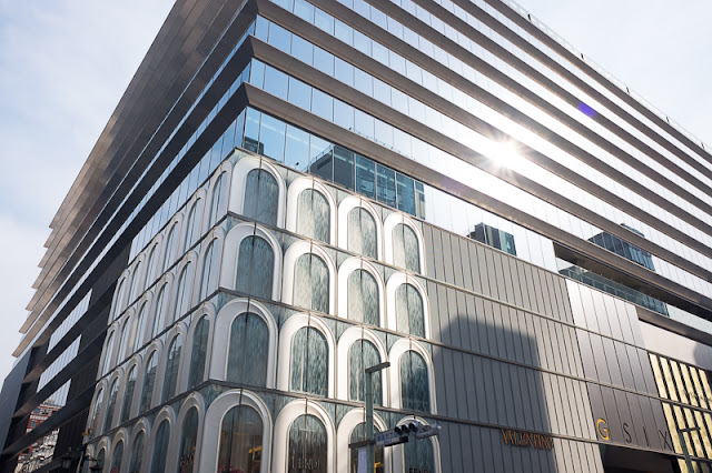 Ginza Six opens in Ginza, Tokyo.