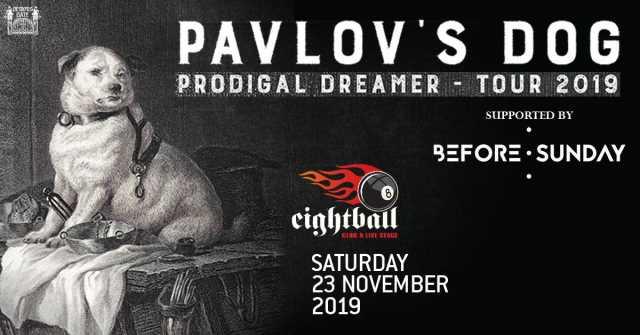 Pavlov's Dog Θεσσαλονίκη 2019