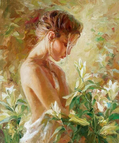 In the dream I Lost in Lilies....