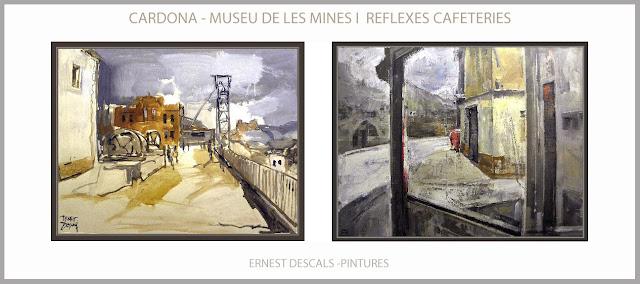 CARDONA-PINTURES-MUSEU-MINES-SAL-PINTURA-CAFETERIES-PAISATGES-BOTIGUES-QUADRES-ARTISTA-PINTOR-ERNEST DESCALS