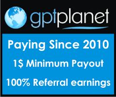 Bukti pembayaran Dari PTC Gptplanet Oktober 2016