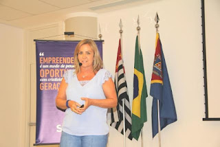 Presidente do Fundo Social de Registro-SP palestra sobre Empreendedorismo Social no SENAC