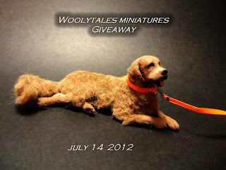 Give away by Woolytales Miniatures
