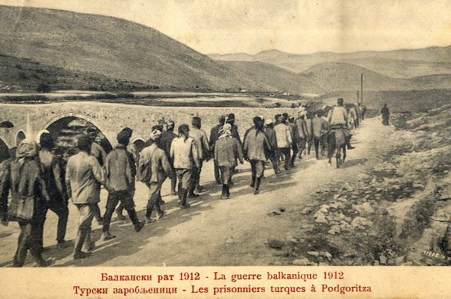 First Balkan War - 1912 - Turkish prisoners