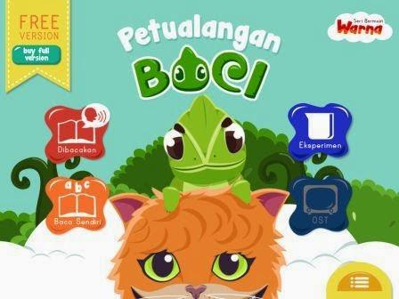 Petualangan Boci, Buku Digital Interaktif Untuk Anak 4-6 Tahun