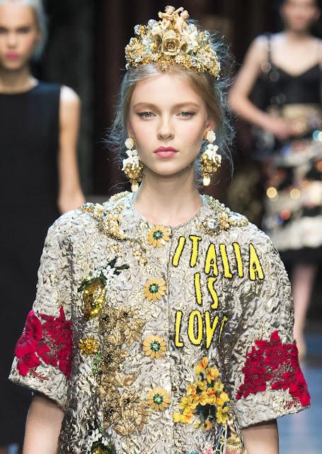 Dolce Gabbana Spring 2016 Jewelry