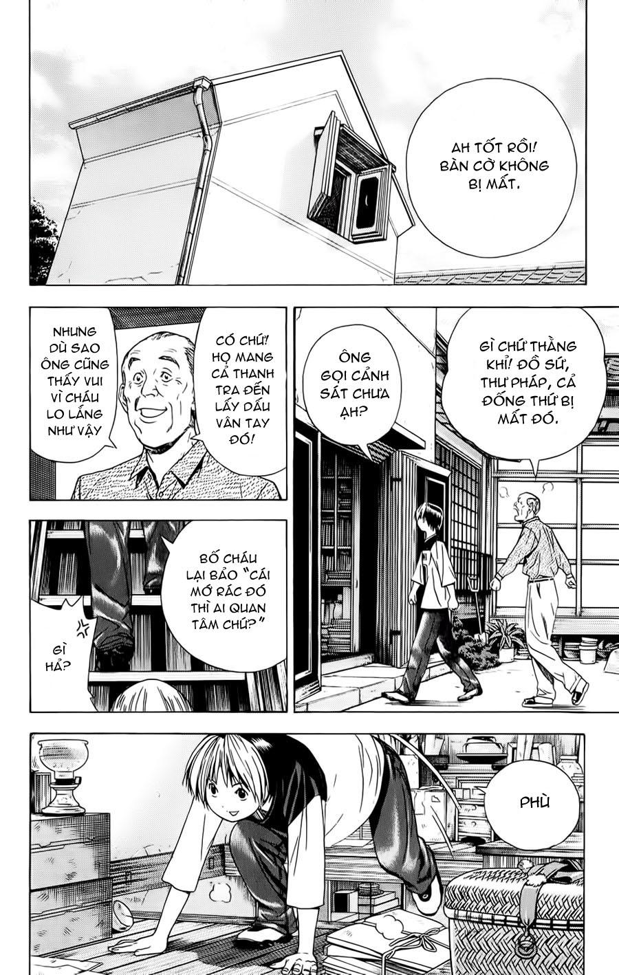 Hikaru No Go hikaru no go chap 122 trang 21