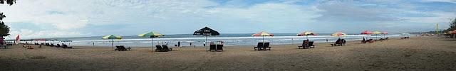 pantai kuta bali dipagi hari wisataarea.com