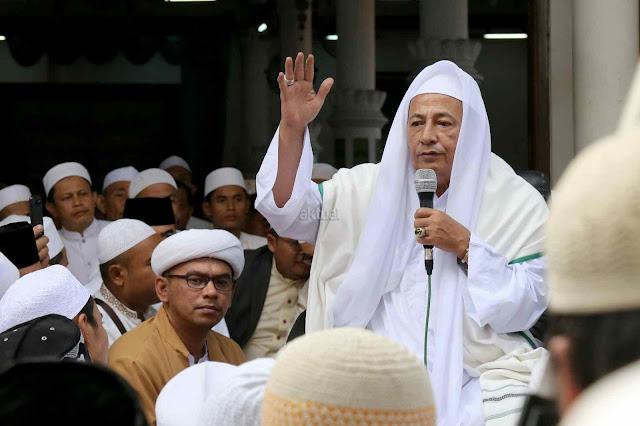 Ini Pesan Habib Luthfi Saat Ditanya Coblos Siapa, Jokowi atau Prabowo?
