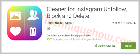 Cleaner for Instagram_