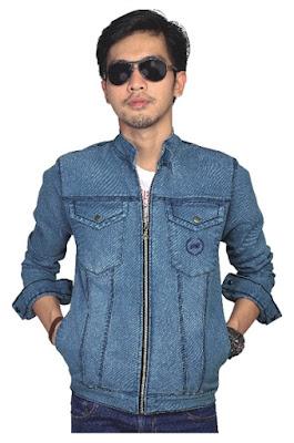 Jaket Jeans Terbaru Biru Langit