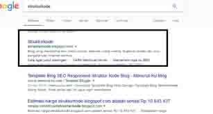 pencarian di serp pertama tanpa iklan