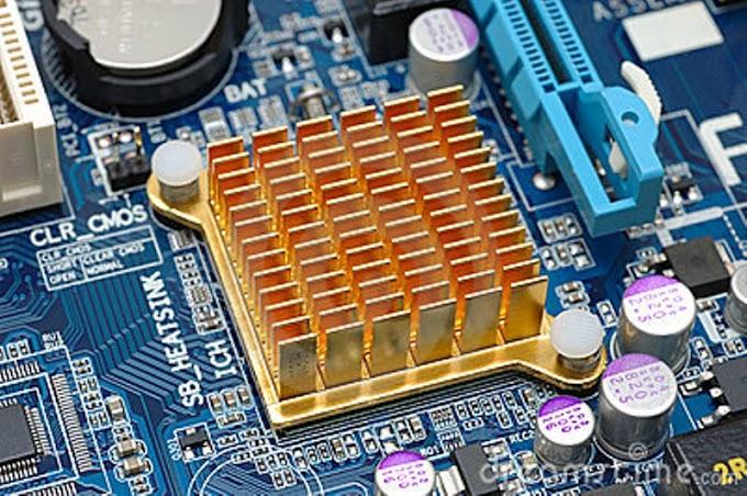 Chip  Sebagian Bagian Dasar Pada Alat Elektronik