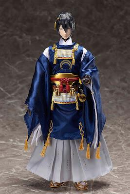 Romantic Action Doll Mikazuki Munechika de Touken Ranbu -ONLINE- - Takara Tomy