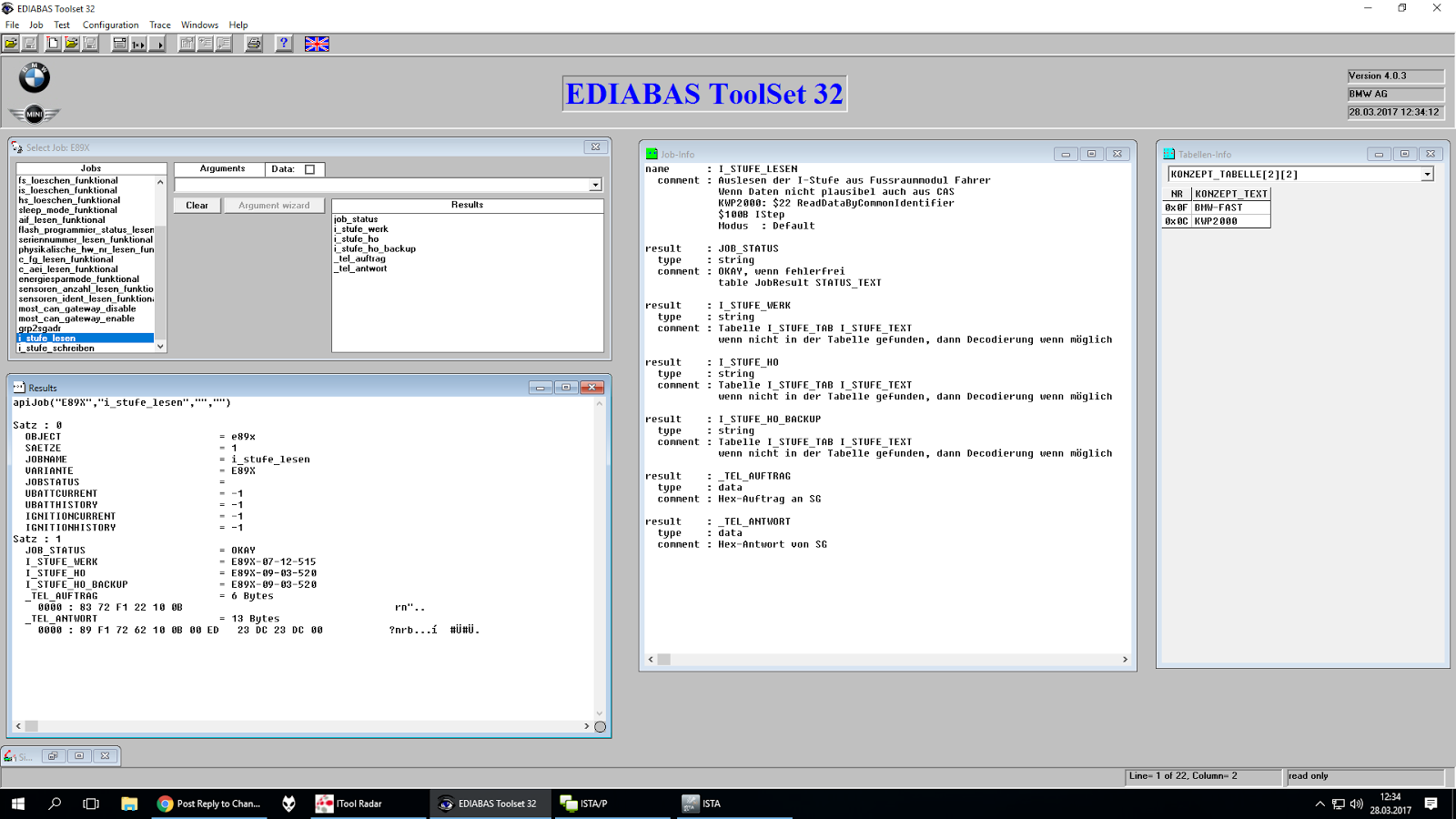 Comment changer bmw i level en frm3 via ediabas for Changer votre fenetre cas par cas