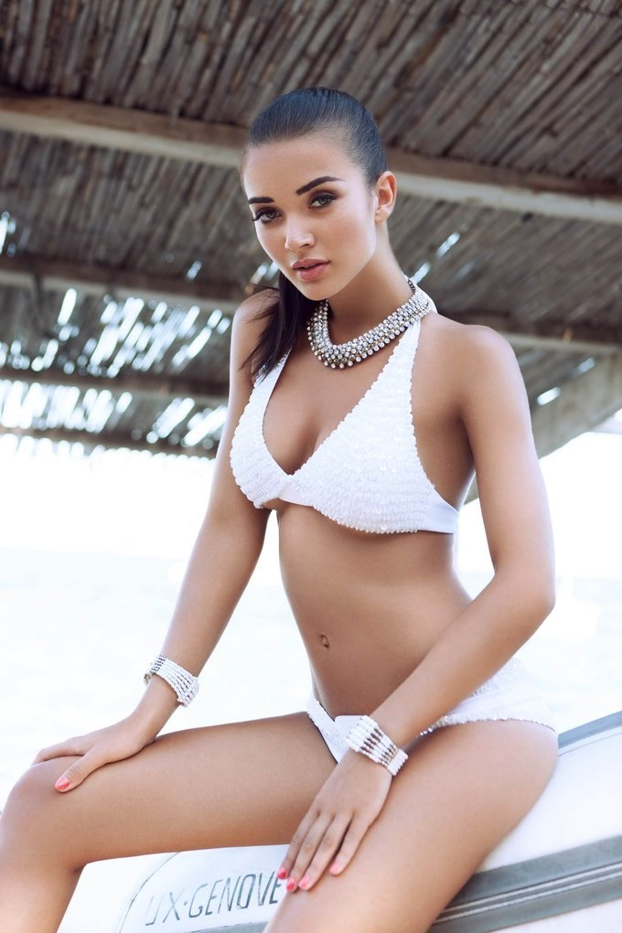 Amy Jackson Sizziling Hot Bikini Photoshoot