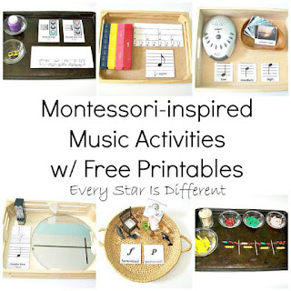 Montessori-inspired Music Activities with Free Printables