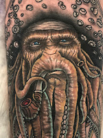 davy jones tattoo