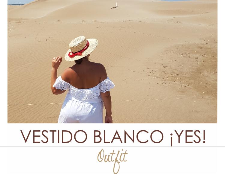 LOS VESTIDOS BLANCOS SON PARA EL VERANO · Outfit
