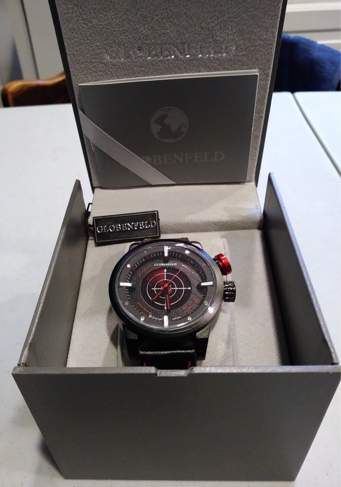 6b0f8d4ae I recently had the opportunity to work with Globenfeld and review their  Heligraph men's wrist watch. This is a unique piece that would be perfect  for any ...