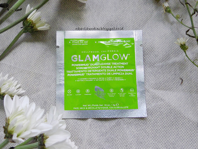 Cilla the rainbow days review masker lumpur mud mask glamglow