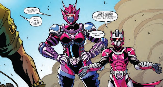 Who Are These M.A.S.K. Agents in Transformers: MTMTE Revolution #1?