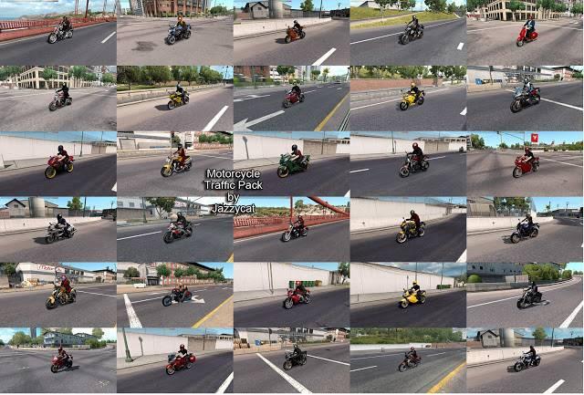 ats motorcycle traffic pack v2.4 screenshots 2