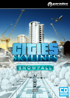 تحميل لعبة Cities Skylines Snowfall