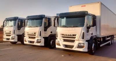 7 de cada 10 caminhões vendidos são pesados ou semipesados. Veja o desempenho de cada marca