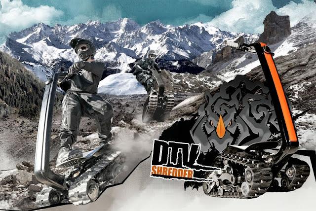 Snow Tracks For Trucks >> Segways are for Sissies - The DTV Shredder