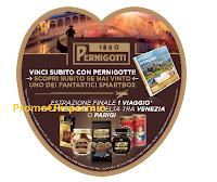Logo Pernigotti San Valentino: vinci 35 cofanetti Smartbox ''Momenti di piacere'' e 10 Esperienze Benessere