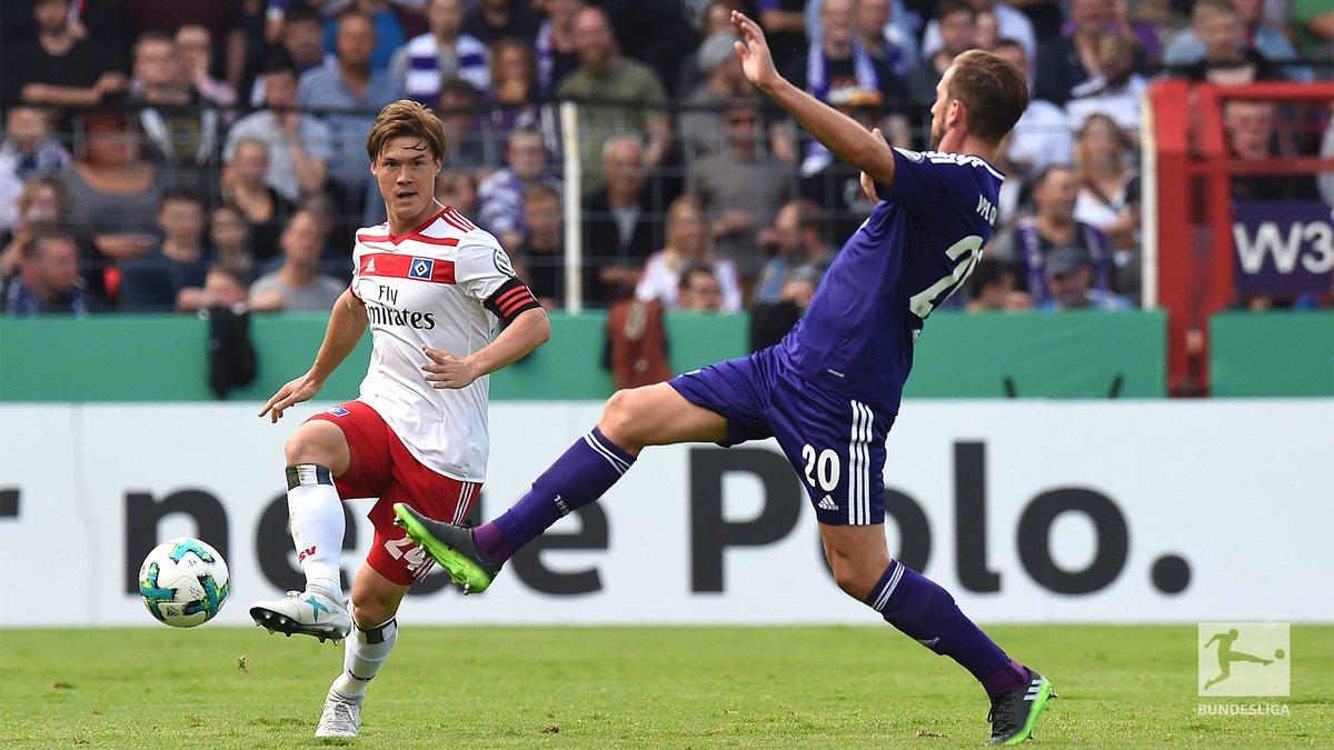 7a4f7130a3 Olha a zebra! Hamburgo é eliminado por time da 3ª divisão  Wolfsburg ...