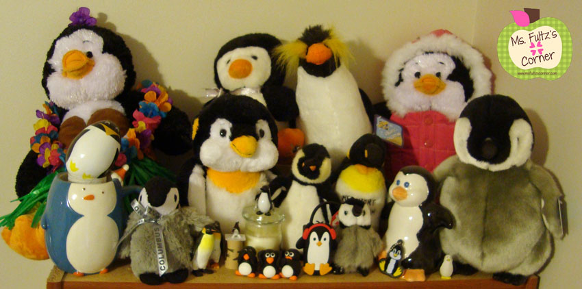 Our Teacher Asked What My Favorite Animal Was: Penguins, Penguins Everywhere! • Christi Fultz