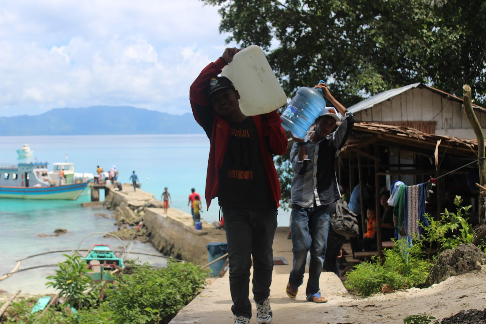 Wisata Di Indonesia Pesona Laut Siumat Di Ujung Pulau Simeulue