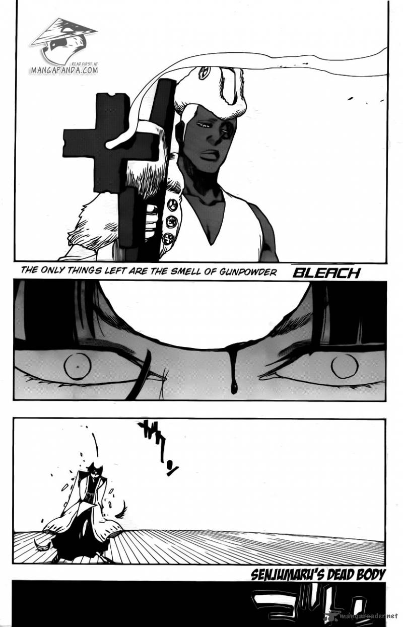 Bleach Ch 600: Snipe