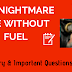The Nightmare Life Without Fuel Summary And Important Questions