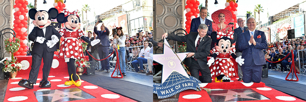 Minnie Mouse gets her own star on the Hollywood Walk of Fame