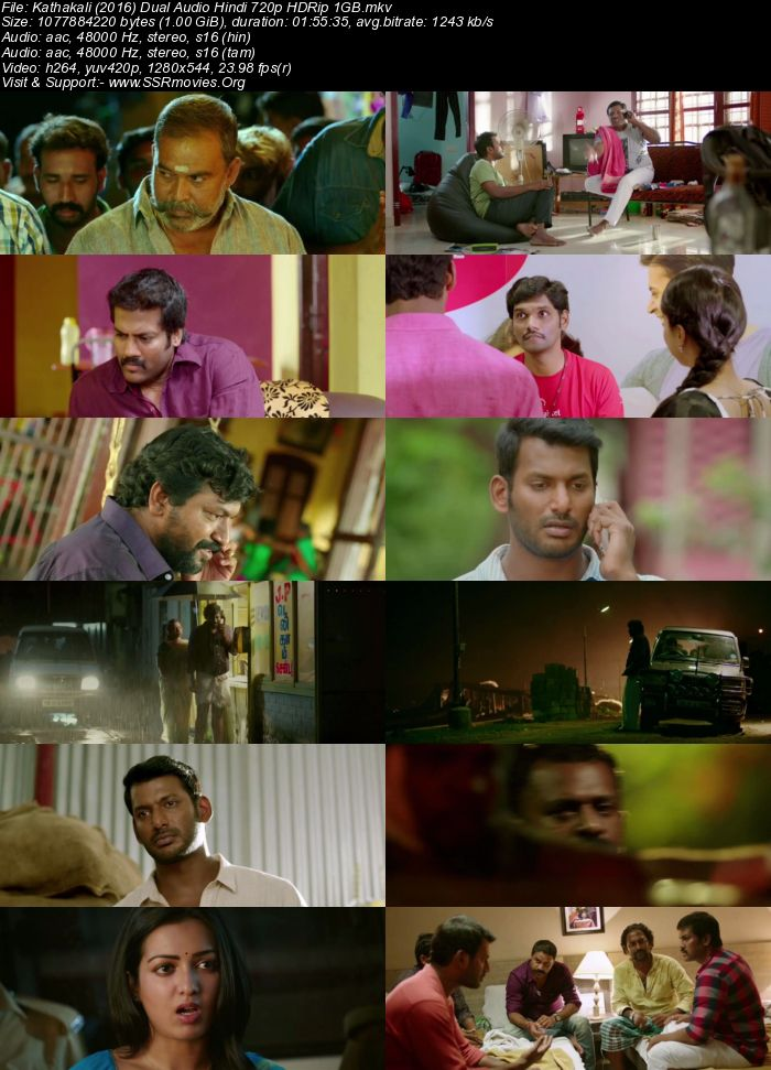Kathakali (2016) Dual Audio Hindi 720p HDRip