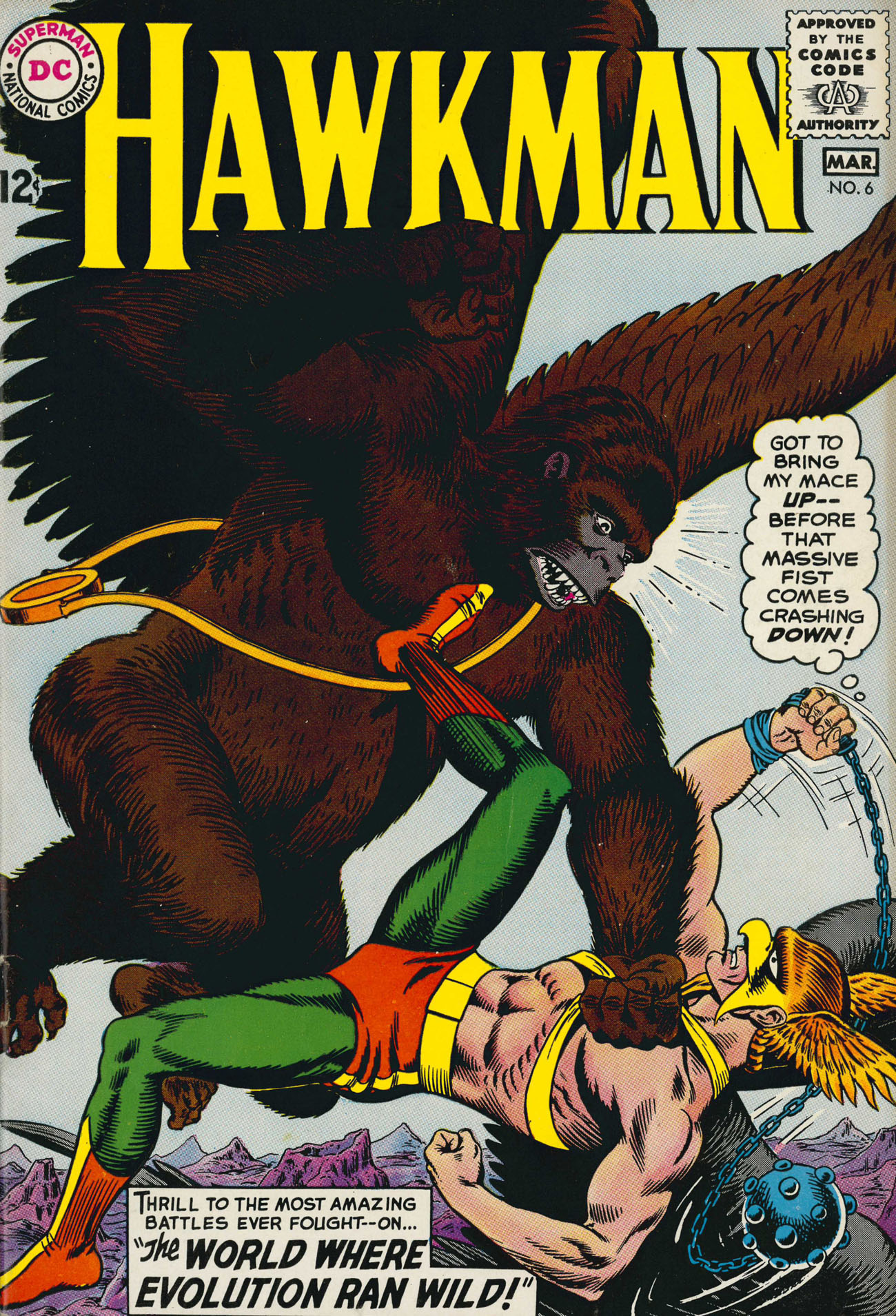 Hawkman (1964) issue 6 - Page 1