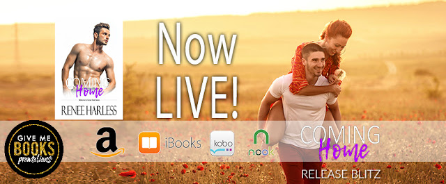 COMING HOME by Renee Harless @Renee_harless @GiveMeBooksBlog #NewRelease #NowAvailable #Review #TheUnratedBookshelf