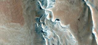 paisajes abstractos del desierto