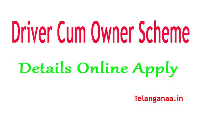 Driver Cum Owner Scheme