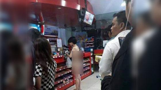 Heboh! Video Cewek Cuma Bercelana Dalam Belanja di Minimarket Ini Jadi Viral