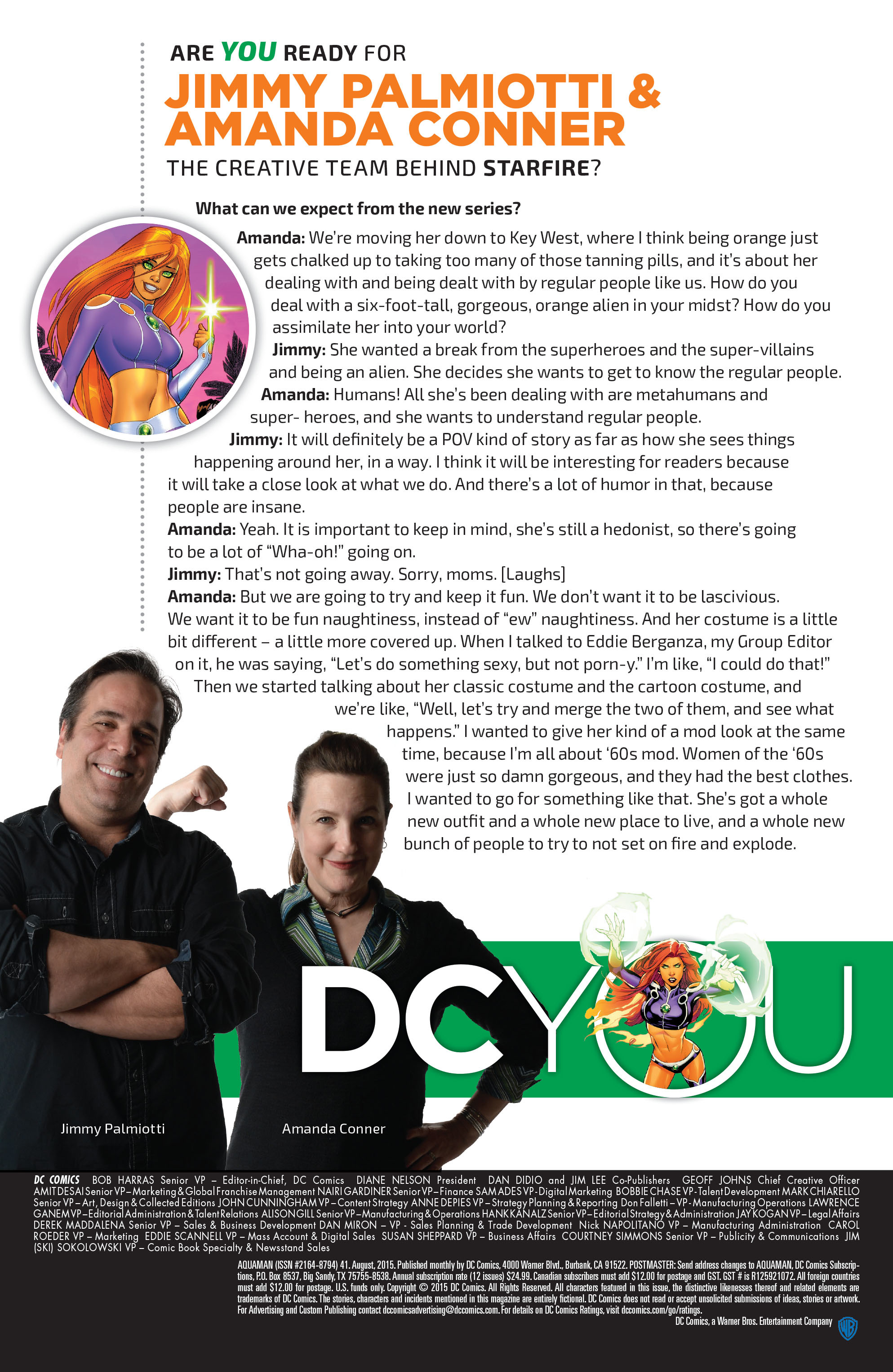 Read online Aquaman (2011) comic -  Issue #41 - 25