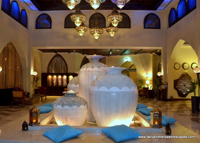 essence of Arabia in Tilal Liwa Hotel lobby