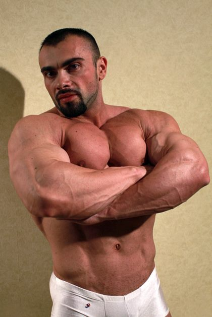 Handsome Strong Body, Ivan Dragos on LMS