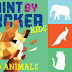 $4.49 (Reg. $9.95) Paint by Sticker Kids: Zoo Animals: Create 10 Pictures One Sticker at a Time!
