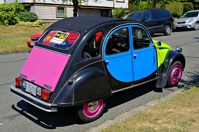 An eye-catching car for sale in Victoria...